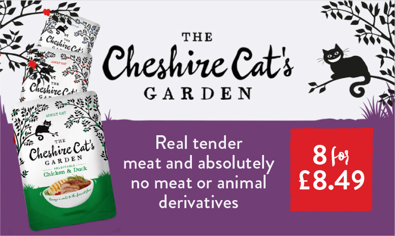 8 Cheshire Cat wet food pouches for £8.49