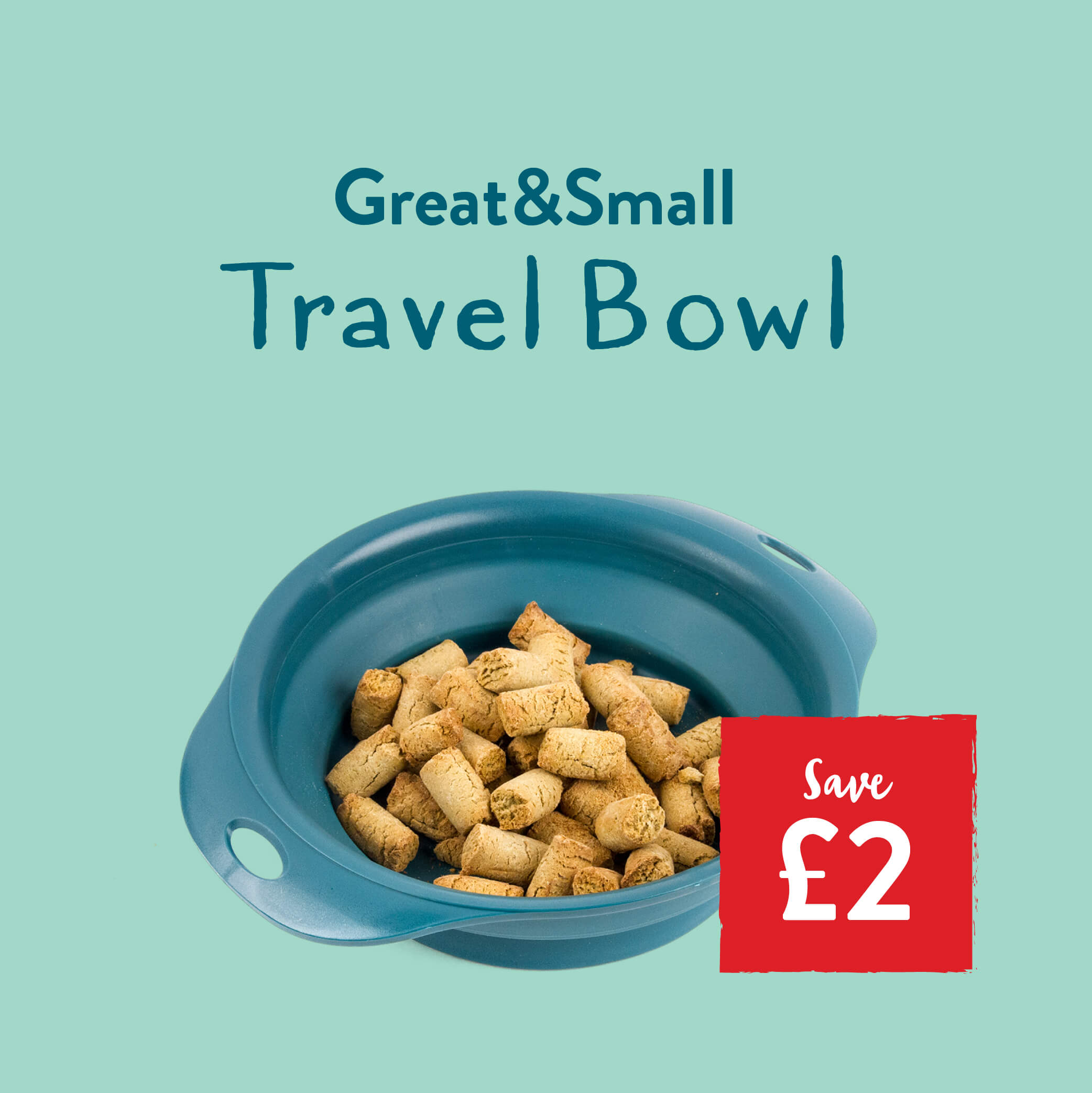 £2 off the Great&Small Travel Bowl