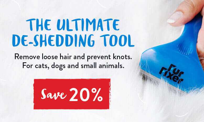 Save 20% on the Furfixer De-Shedding Tool