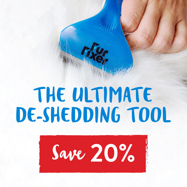 Save 20% on the Furfixer De-Shedding Tool