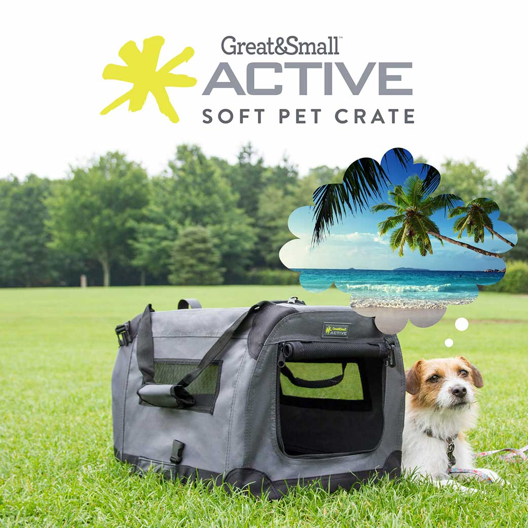 The Pet Crate you can take absolutely anywhere (and the park).