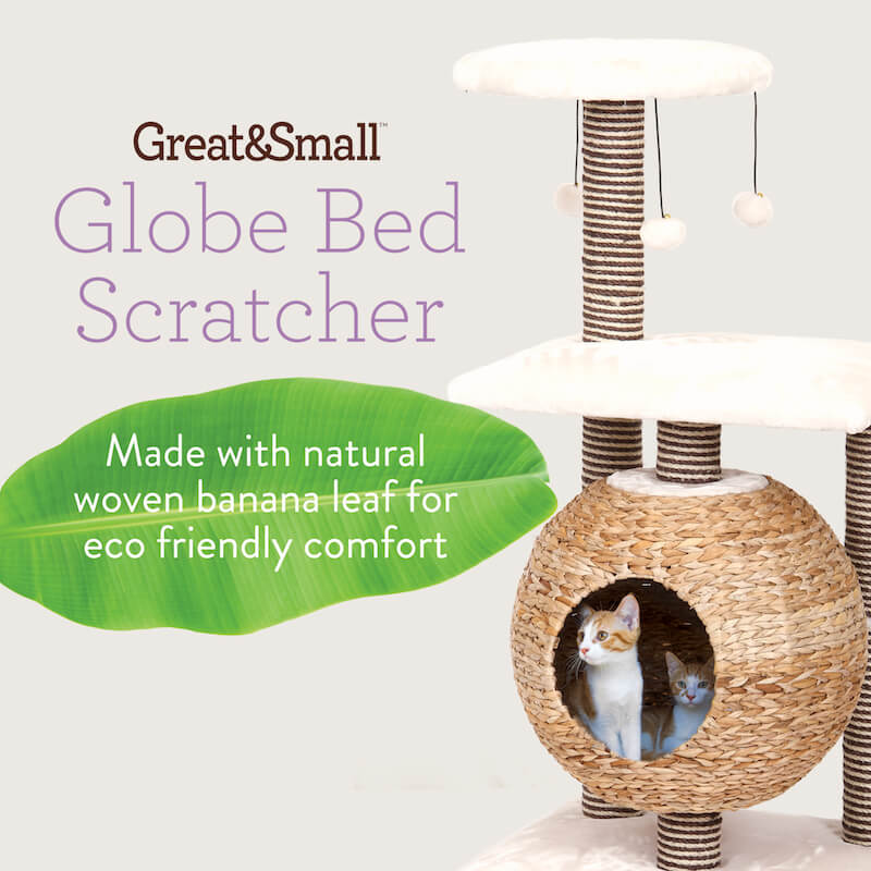 Great&Small Globe Cat Scratcher.