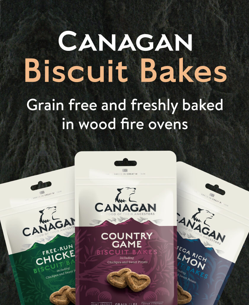 Canagan Dog Biscuits.