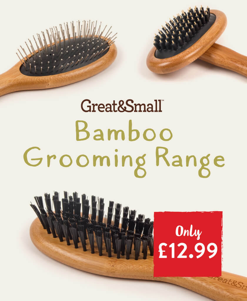 Great&Small Bamboo Grooming Range.