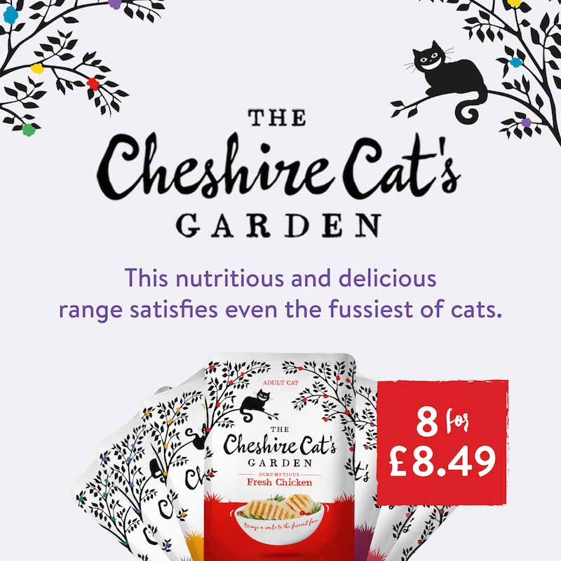 Cheshire Cat. 8 For £8.49