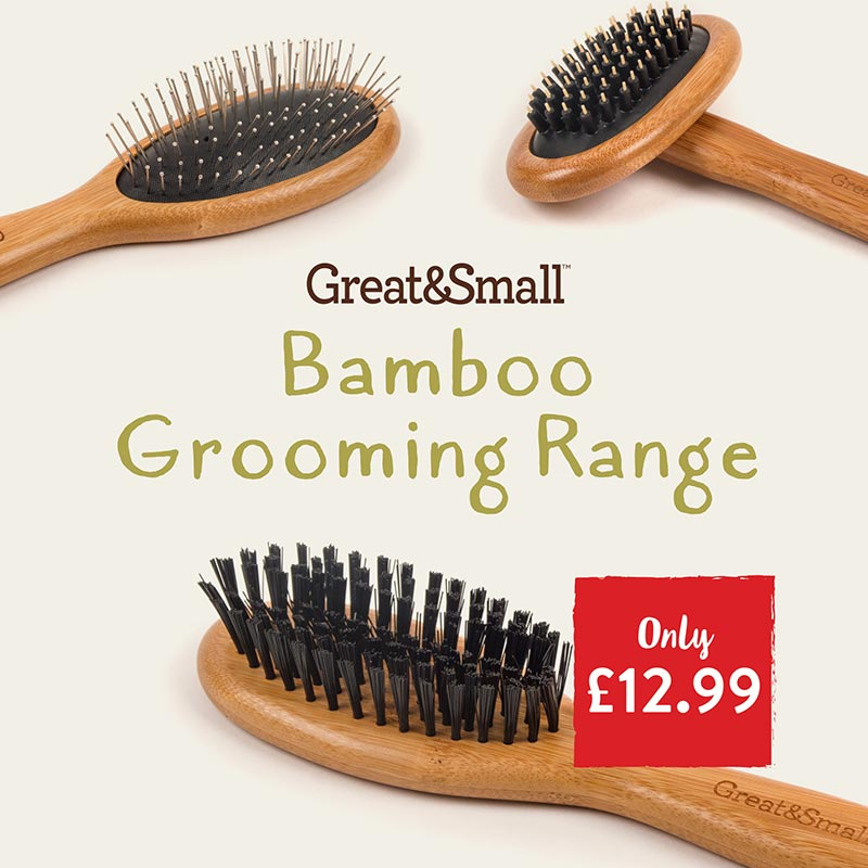 Great&Small Bamboo Grooming Range