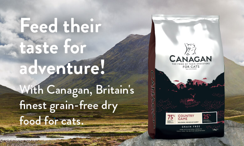 Feed their taste for adventure with Canagan