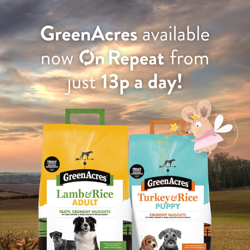 Greenacres available On Repeat from just 13p a day!