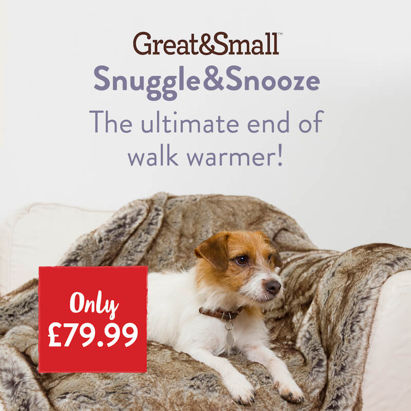 Great & Small Faux Fur Blanket only £79.99