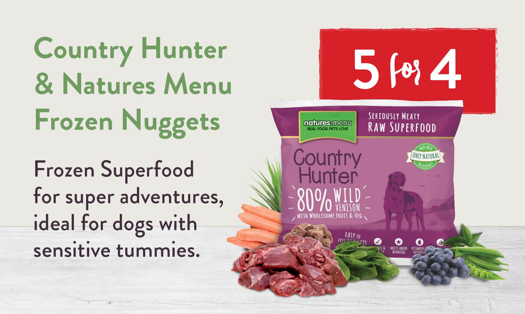 Natures Menu Frozen Dog Food - 5 for 4