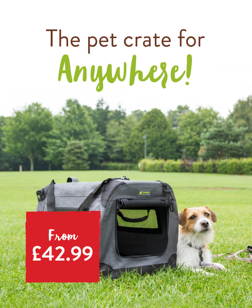The pet crate for Anywhere! From £42.99