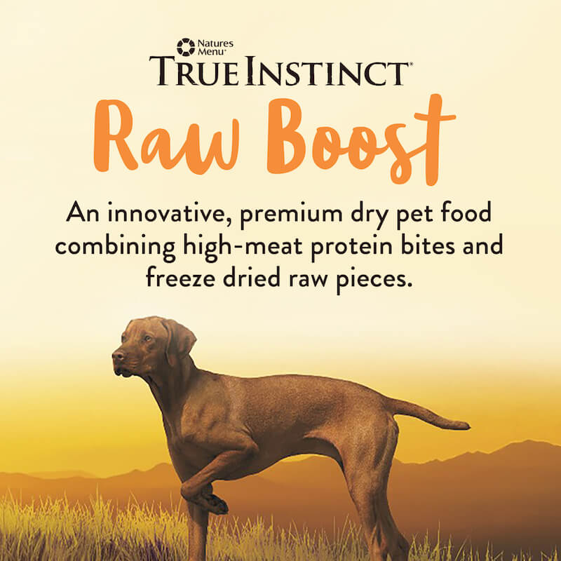 Natures Menu. True instinct Raw Boost