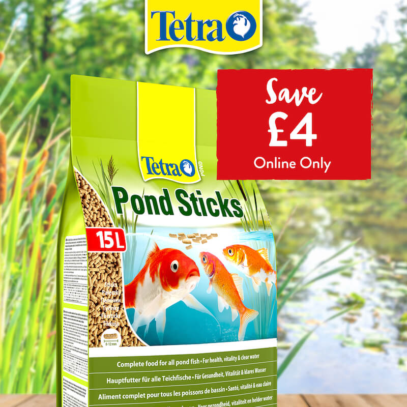 Tetra Pond Sticks - Save £4