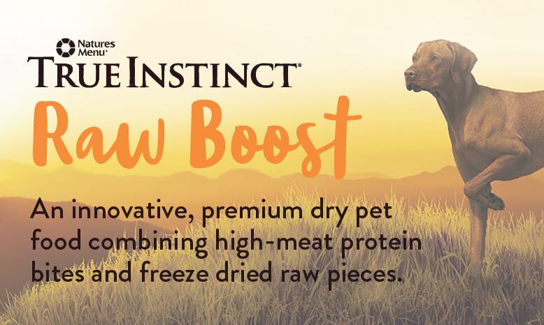 Natures Menu. True instinct Raw Boost