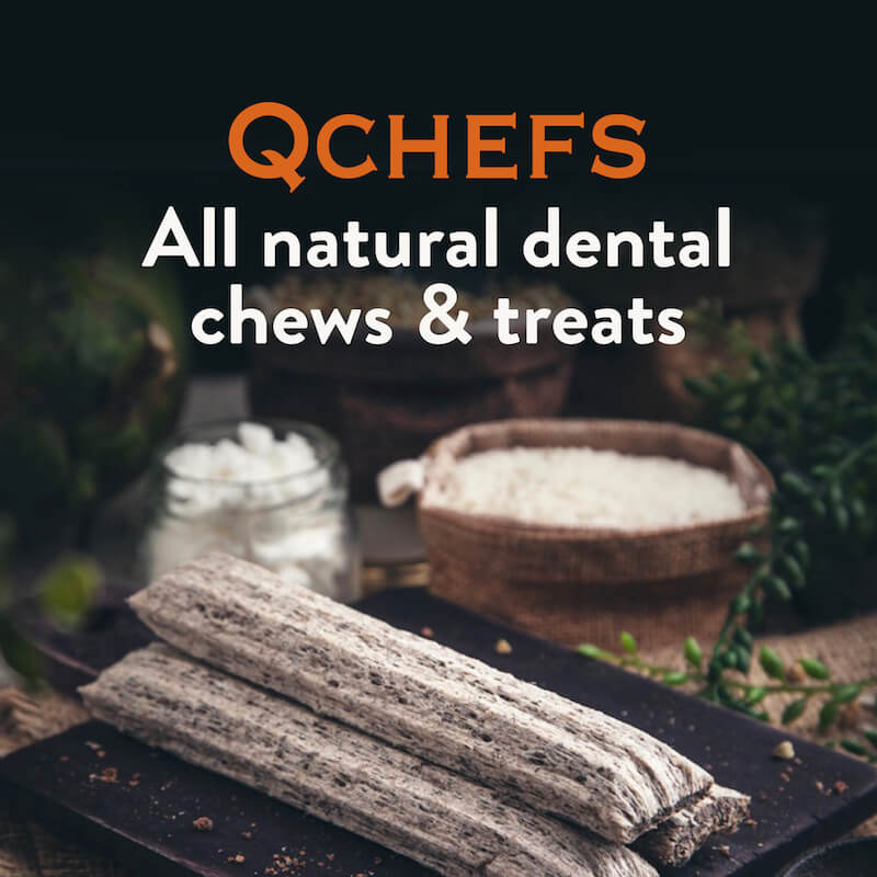 QCHEFS All natural chews & treats