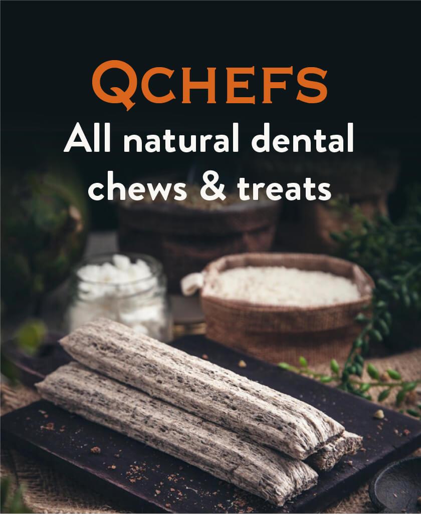 QCHEFS All natural chews & treats