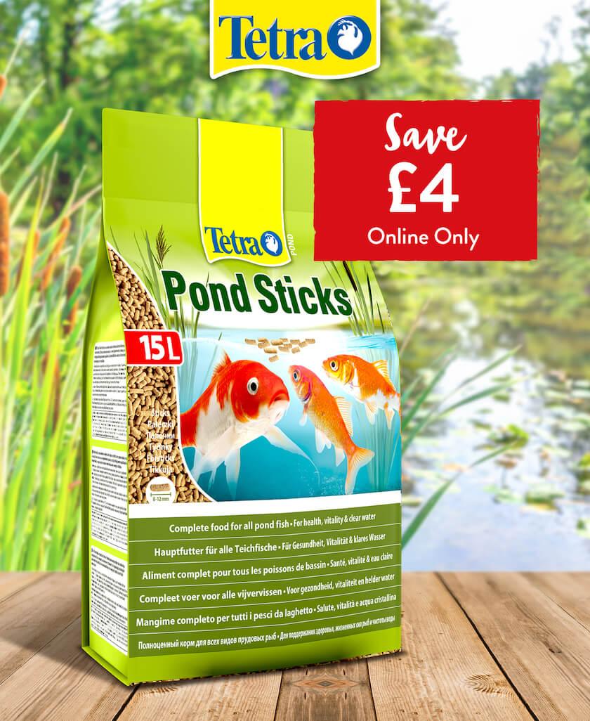 Tetra Pond Sticks - Save £4