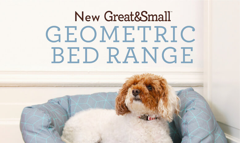 New Great & Small geometric bed range. Handmade with love in the UK