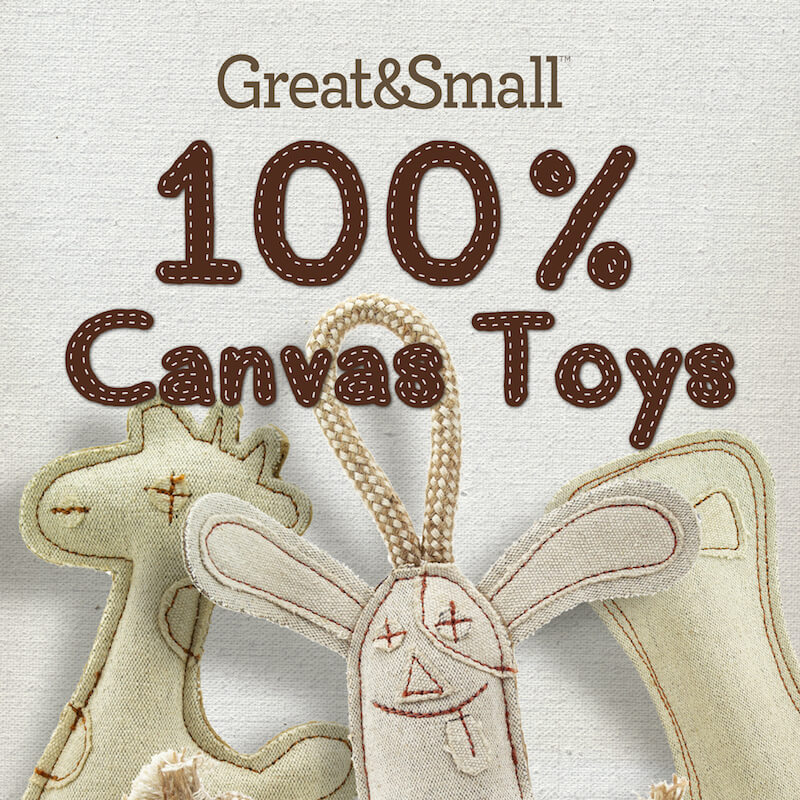 Great & Small 100% Canvas Toys