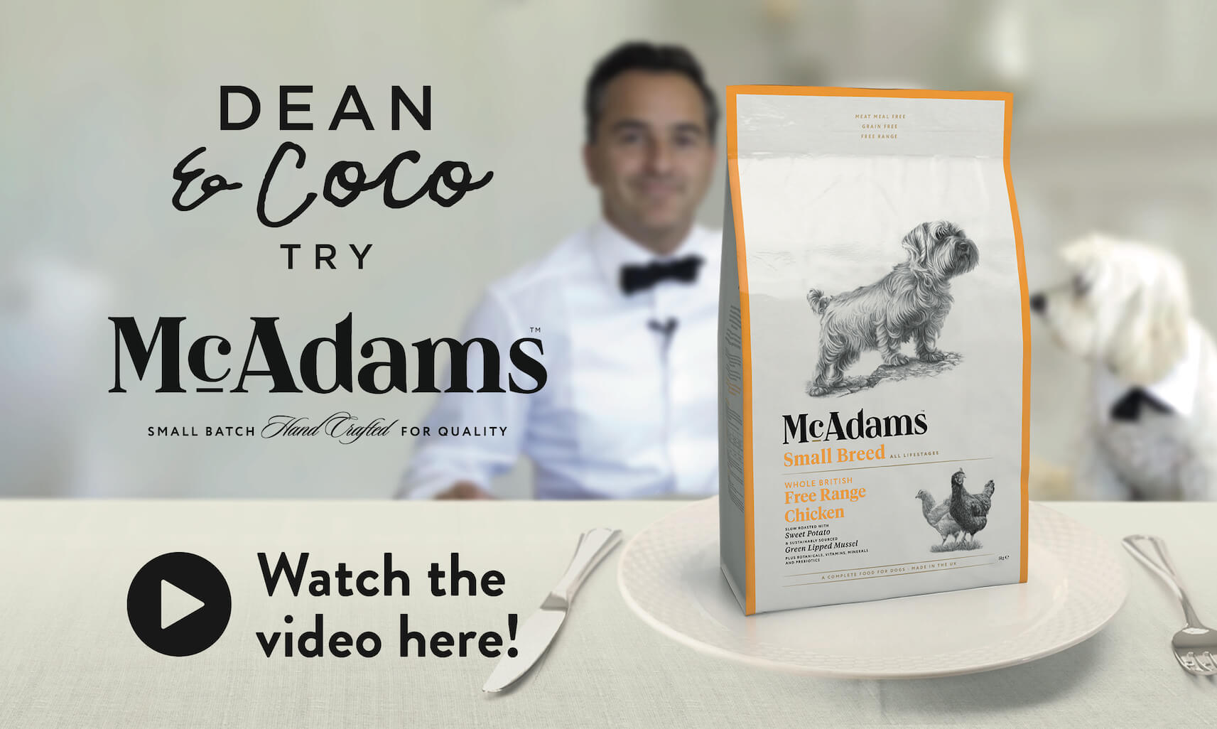 Dean & Coco try Mcadams. Watch the video here!