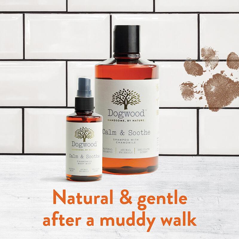 Dogwood - Natural & Gentle after a muddy walk