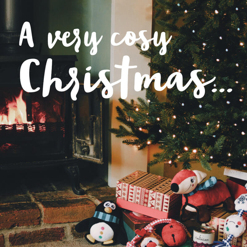 A very cosy Christmas... Spoil your loved ones this festive season.