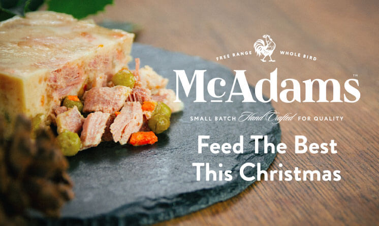 McAdams. Feed The Best This Christmas