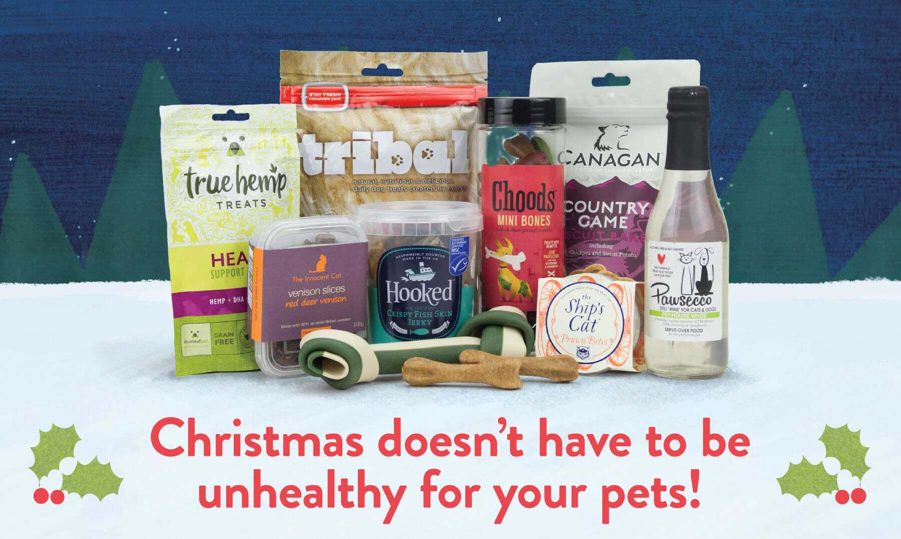 Christmas doesn't have to be unhealthy for your pets!