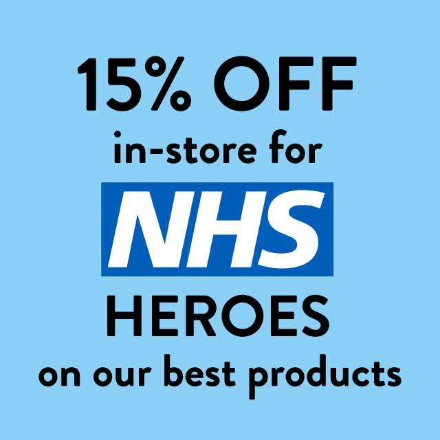 15% off for NHS heros