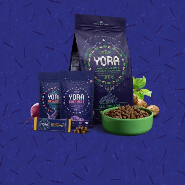 Yora. Sustainable Dog Food