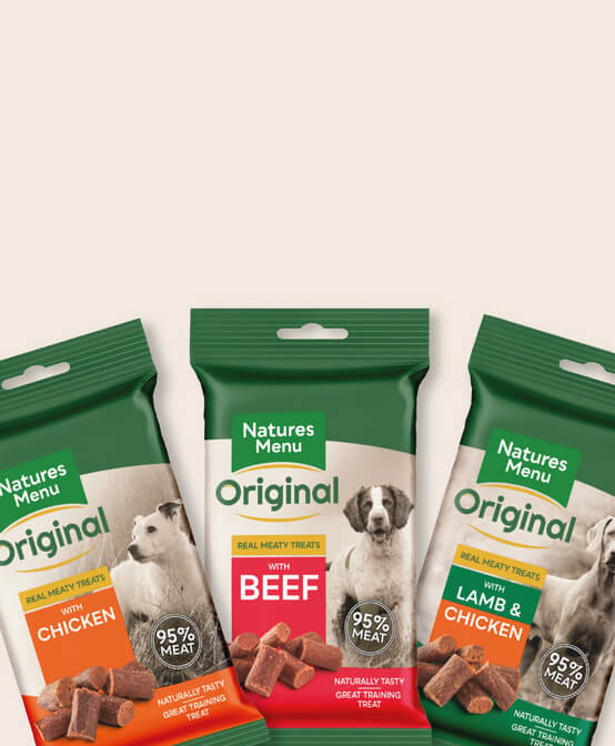 Nutritious treats made with 95% real meat. Save 10%. Shop Natures Menu