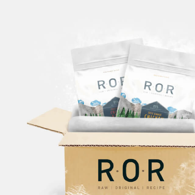 ROR. Bone & grain free raw delivered