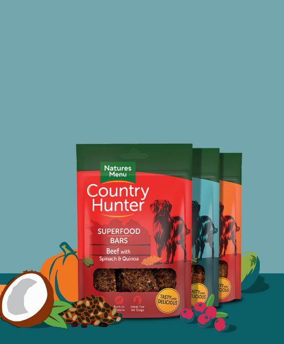 Save 50p on Country Hunter Superfood Bars