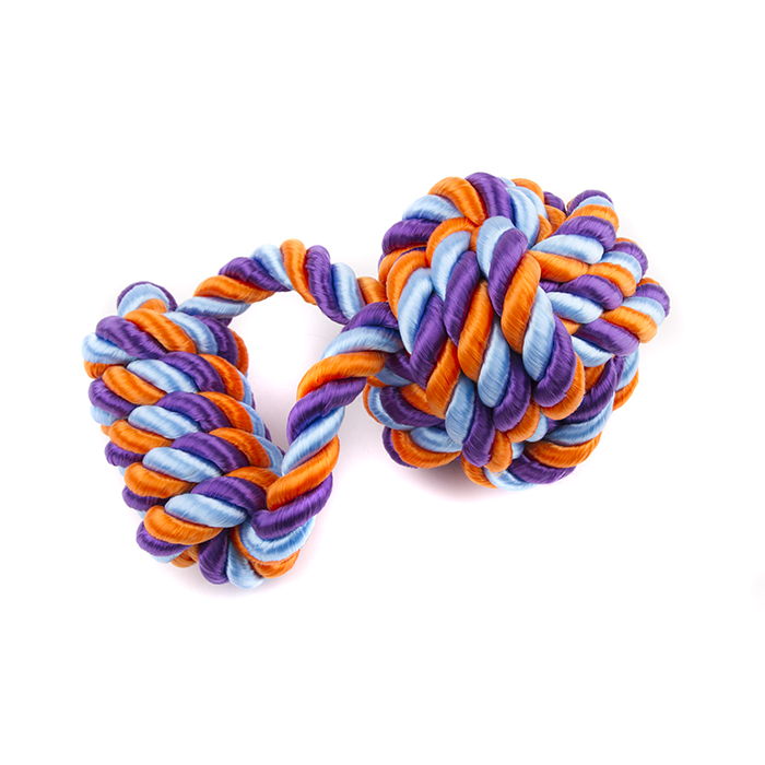 Great&Small Extra Strong Floating Rope with Handle and Ball Tug
